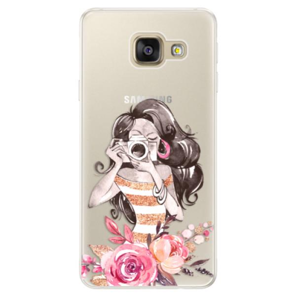 Silikónové puzdro iSaprio - Charming - Samsung Galaxy A5 2016