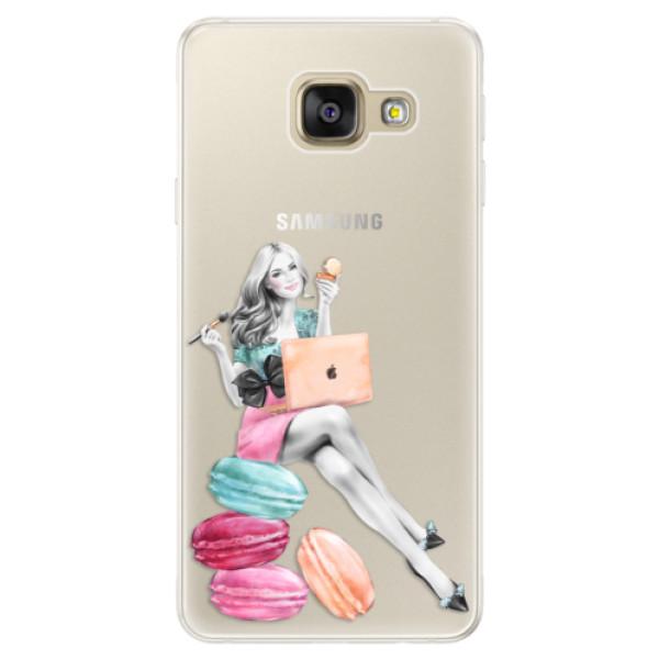 Silikónové puzdro iSaprio - Girl Boss - Samsung Galaxy A5 2016