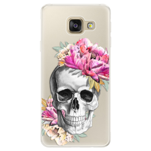 Silikónové puzdro iSaprio - Pretty Skull - Samsung Galaxy A5 2016