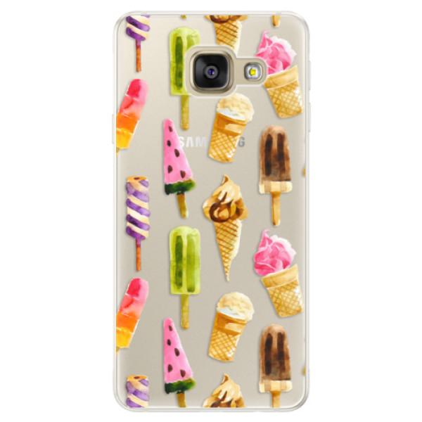 Silikónové puzdro iSaprio - Ice Cream - Samsung Galaxy A5 2016