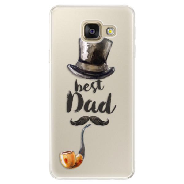Silikónové puzdro iSaprio - Best Dad - Samsung Galaxy A5 2016