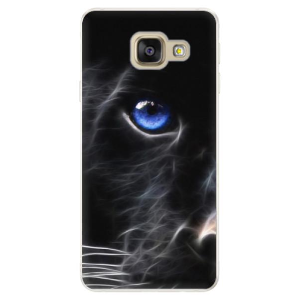 Silikónové puzdro iSaprio - Black Puma - Samsung Galaxy A5 2016