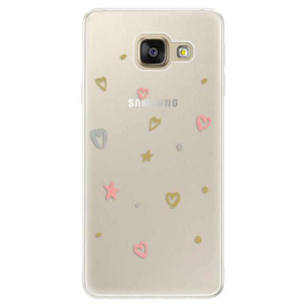 Silikónové puzdro iSaprio - Lovely Pattern - Samsung Galaxy A5 2016