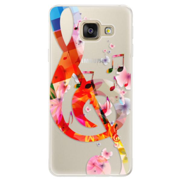 Silikónové puzdro iSaprio - Music 01 - Samsung Galaxy A5 2016