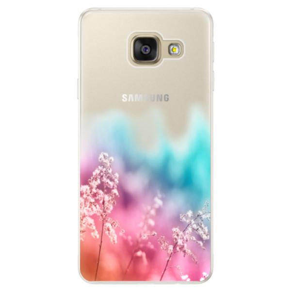Silikónové puzdro iSaprio - Rainbow Grass - Samsung Galaxy A5 2016