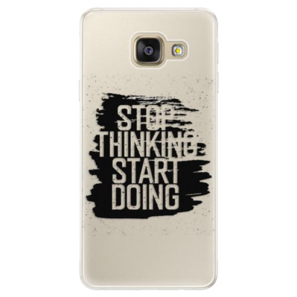 Silikónové puzdro iSaprio - Start Doing - black - Samsung Galaxy A5 2016
