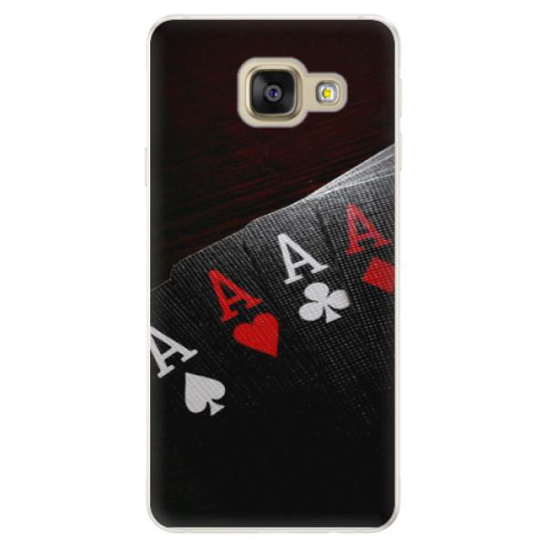 Silikónové puzdro iSaprio - Poker - Samsung Galaxy A5 2016
