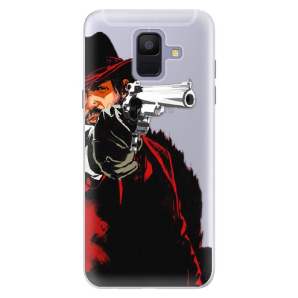 Silikónové puzdro iSaprio - Red Sheriff - Samsung Galaxy A6