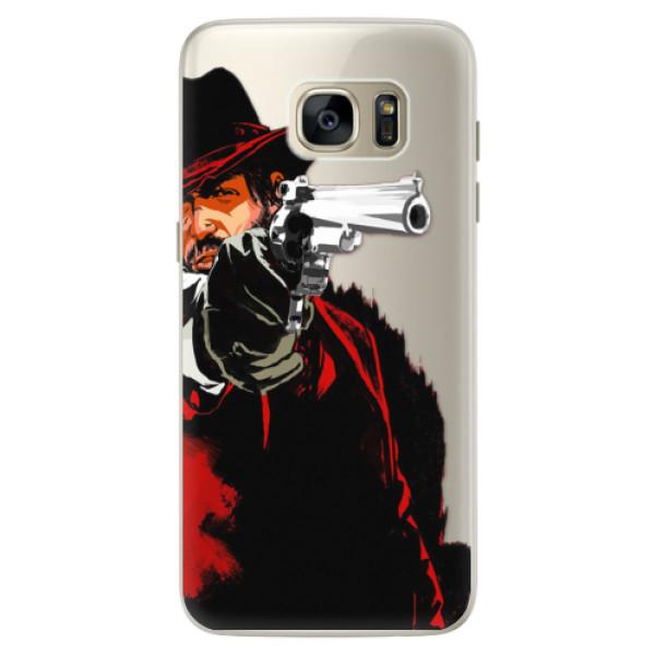 Silikónové puzdro iSaprio - Red Sheriff - Samsung Galaxy S7