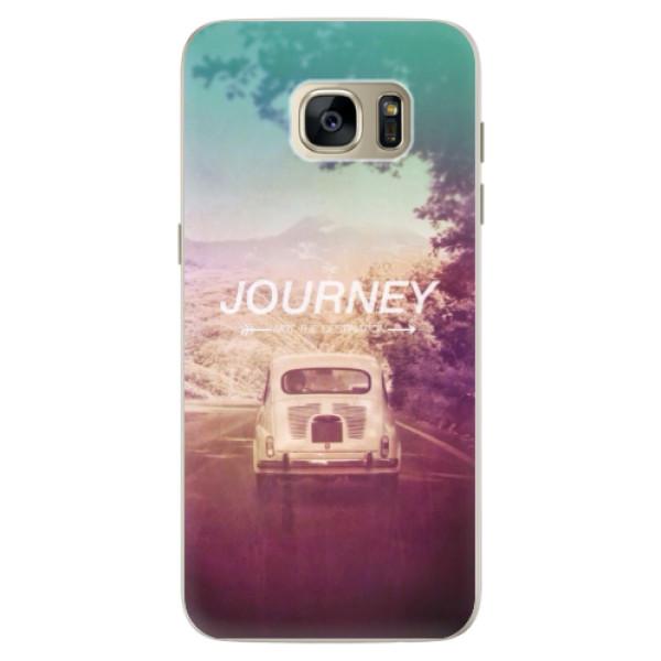 Silikónové puzdro iSaprio - Journey - Samsung Galaxy S7 Edge
