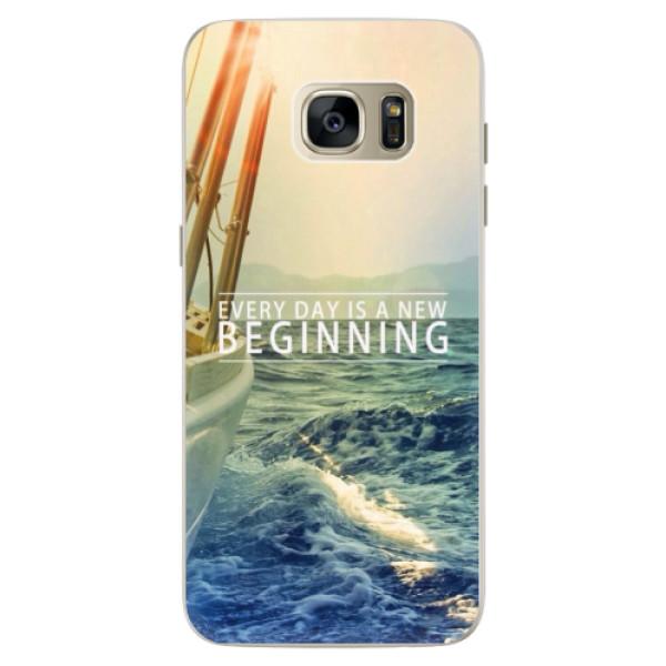 Silikónové puzdro iSaprio - Beginning - Samsung Galaxy S7 Edge