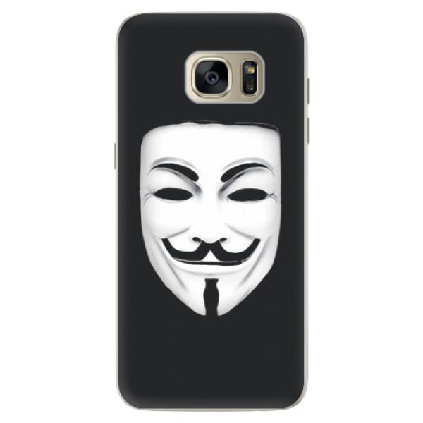 Silikónové puzdro iSaprio - Vendeta - Samsung Galaxy S7 Edge