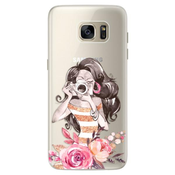 Silikónové puzdro iSaprio - Charming - Samsung Galaxy S7 Edge