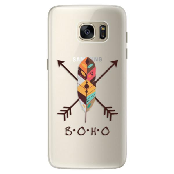 Silikónové puzdro iSaprio - BOHO - Samsung Galaxy S7 Edge