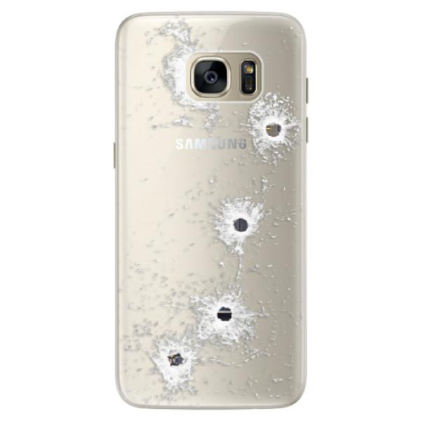 Silikónové puzdro iSaprio - Gunshots - Samsung Galaxy S7 Edge