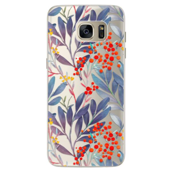 Silikónové puzdro iSaprio - Rowanberry - Samsung Galaxy S7 Edge
