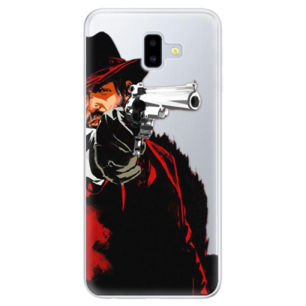 Silikónové puzdro iSaprio - Red Sheriff - Samsung Galaxy J6+