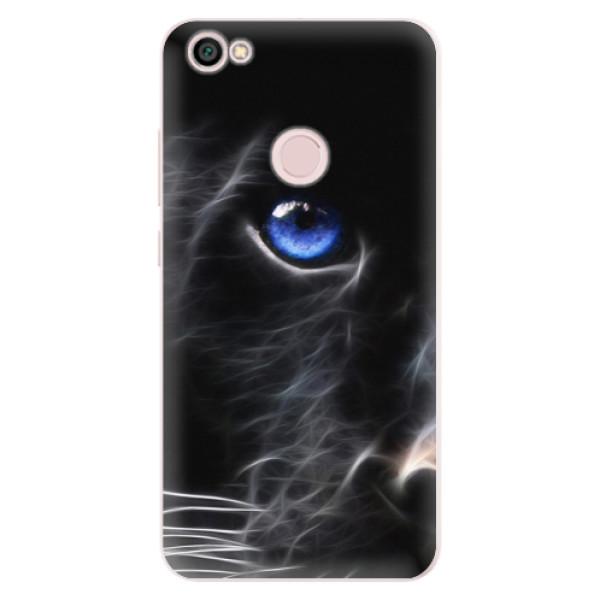 Silikónové puzdro iSaprio - Black Puma - Xiaomi Redmi Note 5A / 5A Prime