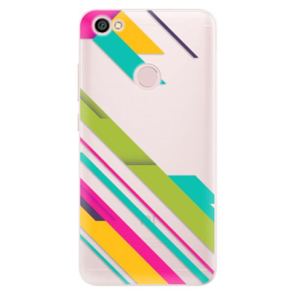 Silikónové puzdro iSaprio - Color Stripes 03 - Xiaomi Redmi Note 5A / 5A Prime