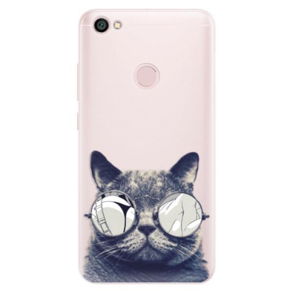 Silikónové puzdro iSaprio - Crazy Cat 01 - Xiaomi Redmi Note 5A / 5A Prime