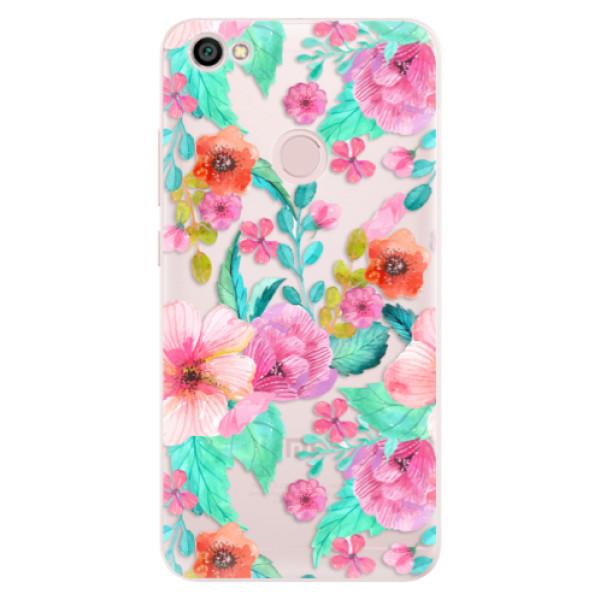 Silikónové puzdro iSaprio - Flower Pattern 01 - Xiaomi Redmi Note 5A / 5A Prime