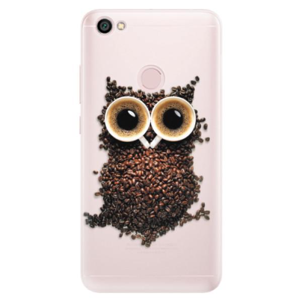 Silikónové puzdro iSaprio - Owl And Coffee - Xiaomi Redmi Note 5A / 5A Prime