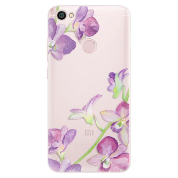 Silikónové puzdro iSaprio - Purple Orchid - Xiaomi Redmi Note 5A / 5A Prime