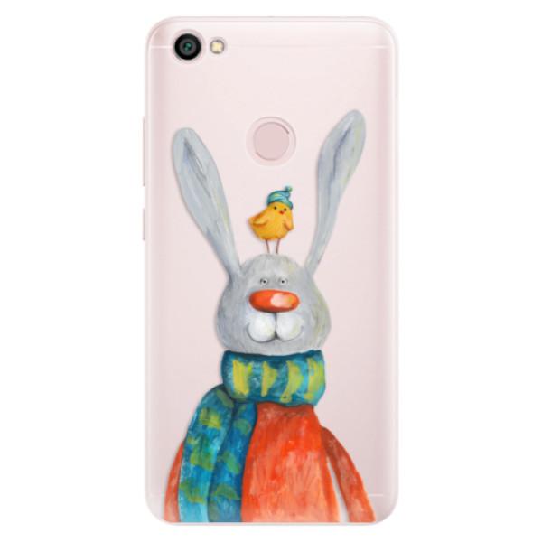 Silikónové puzdro iSaprio - Rabbit And Bird - Xiaomi Redmi Note 5A / 5A Prime