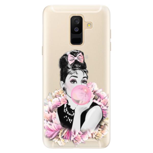 Silikónové puzdro iSaprio - Pink Bubble - Samsung Galaxy A6+