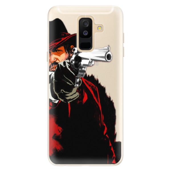 Silikónové puzdro iSaprio - Red Sheriff - Samsung Galaxy A6+