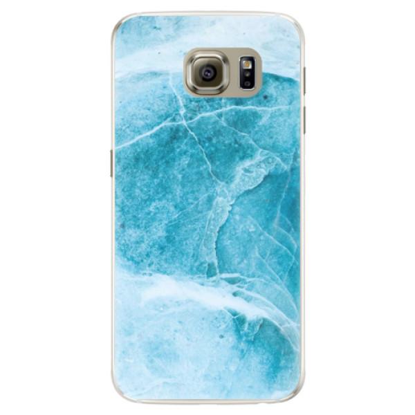 Silikónové puzdro iSaprio - Blue Marble - Samsung Galaxy S6