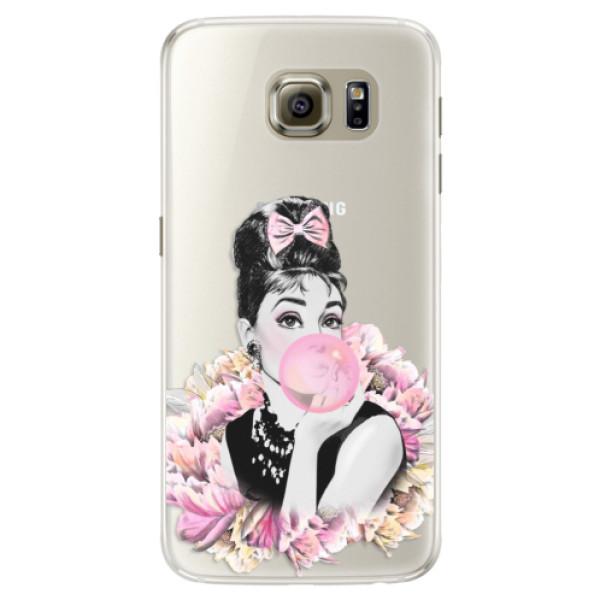 Silikónové puzdro iSaprio - Pink Bubble - Samsung Galaxy S6