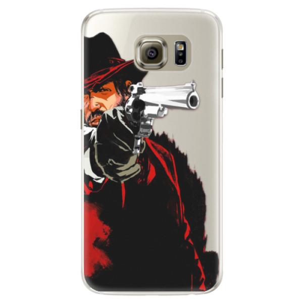 Silikónové puzdro iSaprio - Red Sheriff - Samsung Galaxy S6