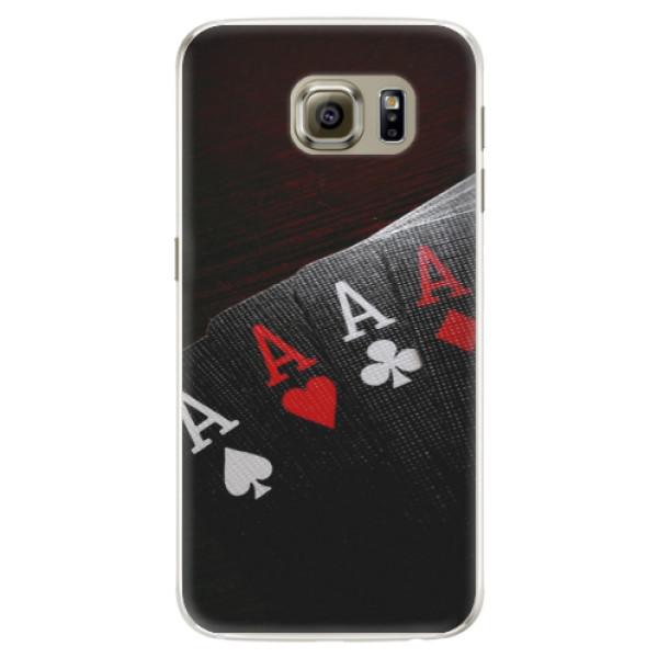 Silikónové puzdro iSaprio - Poker - Samsung Galaxy S6