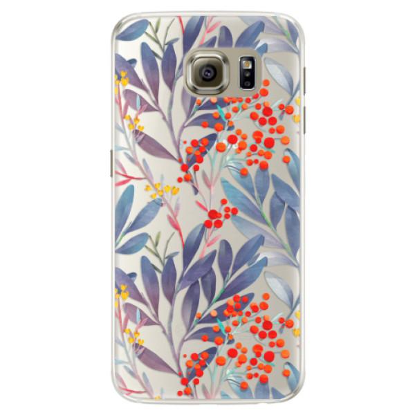 Silikónové puzdro iSaprio - Rowanberry - Samsung Galaxy S6