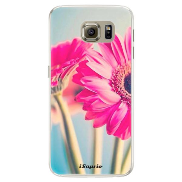 Silikónové puzdro iSaprio - Flowers 11 - Samsung Galaxy S6 Edge