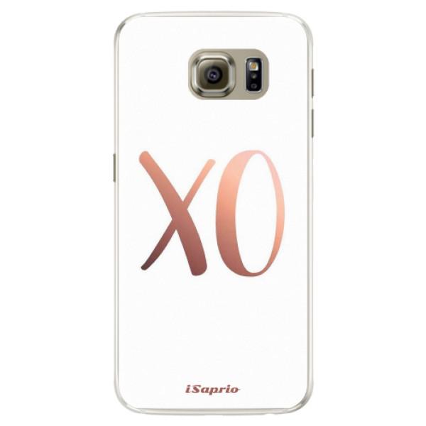 Silikónové puzdro iSaprio - XO 01 - Samsung Galaxy S6 Edge
