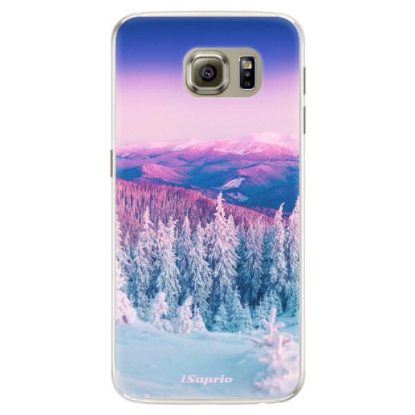 Silikónové puzdro iSaprio - Winter 01 - Samsung Galaxy S6 Edge