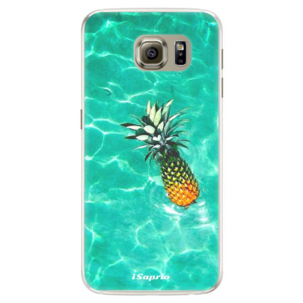 Silikónové puzdro iSaprio - Pineapple 10 - Samsung Galaxy S6 Edge