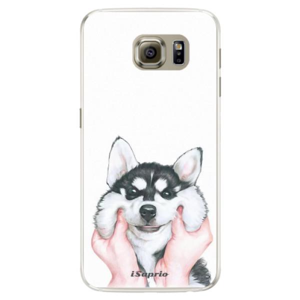 Silikónové puzdro iSaprio - Malamute 01 - Samsung Galaxy S6 Edge