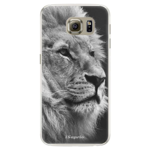 Silikónové puzdro iSaprio - Lion 10 - Samsung Galaxy S6 Edge