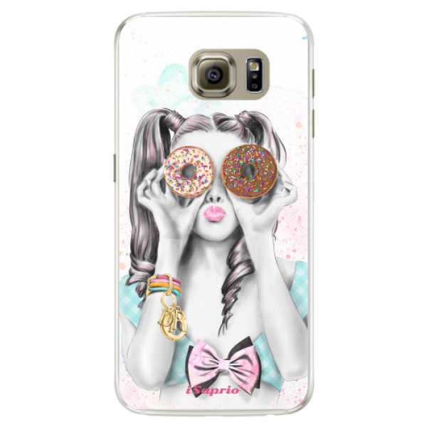 Silikónové puzdro iSaprio - Donuts 10 - Samsung Galaxy S6 Edge