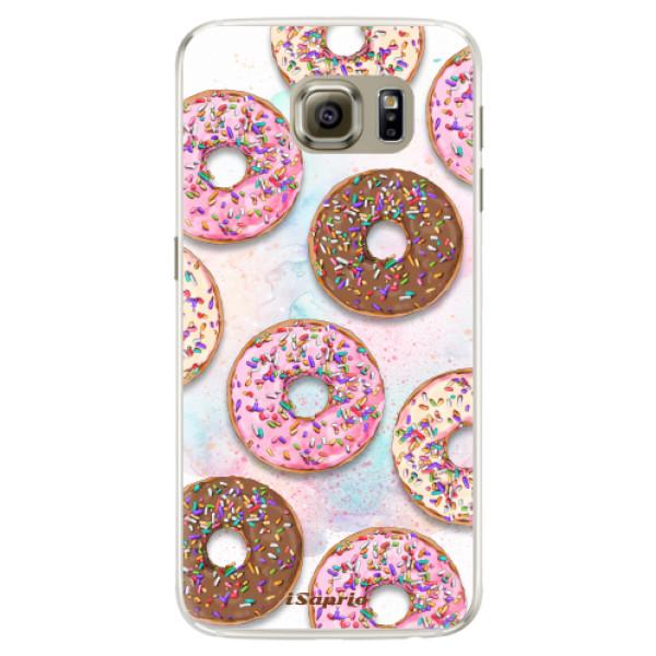 Silikónové puzdro iSaprio - Donuts 11 - Samsung Galaxy S6 Edge