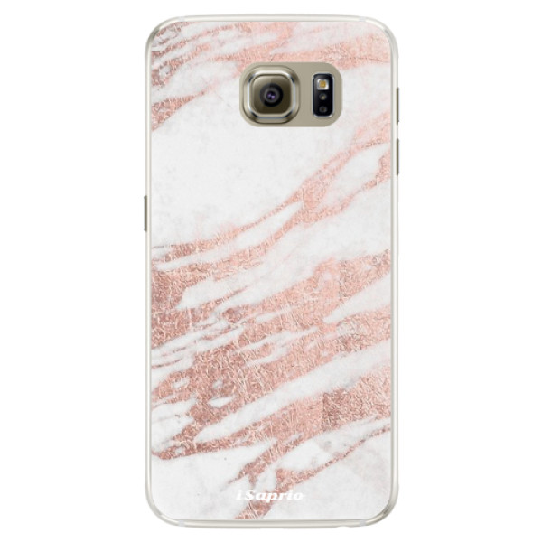 Silikónové puzdro iSaprio - RoseGold 10 - Samsung Galaxy S6 Edge