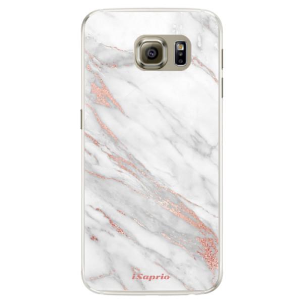 Silikónové puzdro iSaprio - RoseGold 11 - Samsung Galaxy S6 Edge