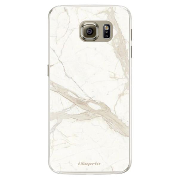 Silikónové puzdro iSaprio - Marble 12 - Samsung Galaxy S6 Edge