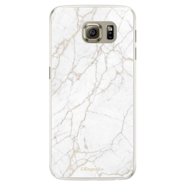 Silikónové puzdro iSaprio - GoldMarble 13 - Samsung Galaxy S6 Edge