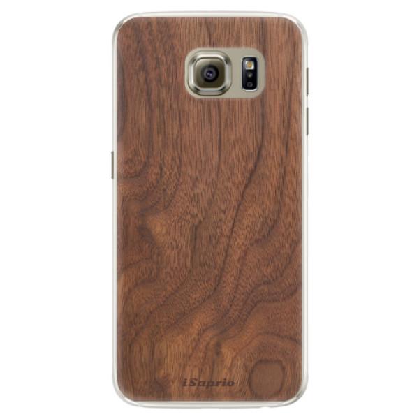 Silikónové puzdro iSaprio - Wood 10 - Samsung Galaxy S6 Edge