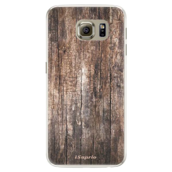 Silikónové puzdro iSaprio - Wood 11 - Samsung Galaxy S6 Edge