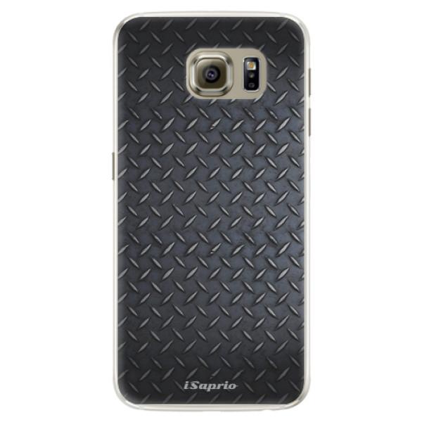 Silikónové puzdro iSaprio - Metal 01 - Samsung Galaxy S6 Edge